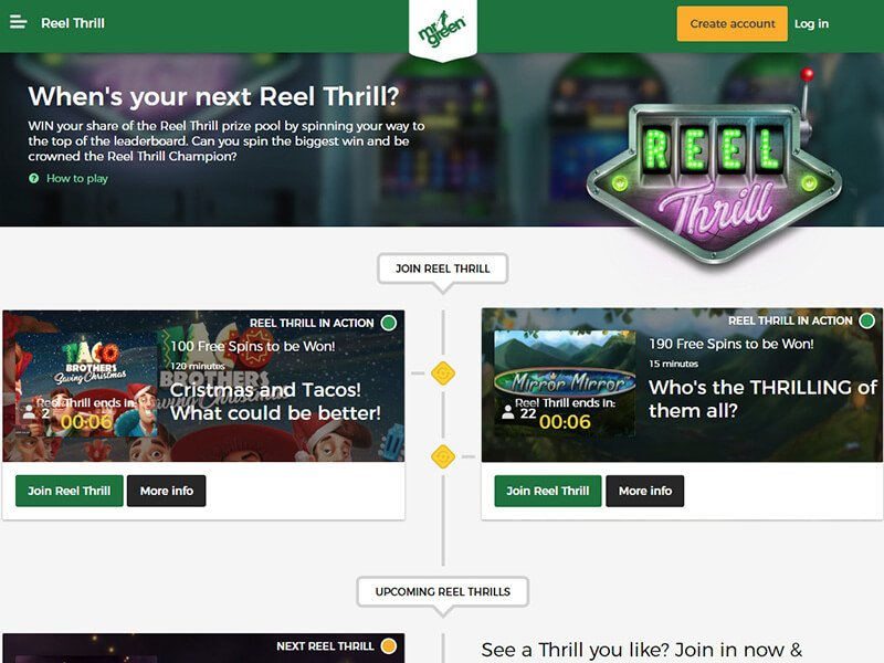 Mr. Green Online Casino Review
