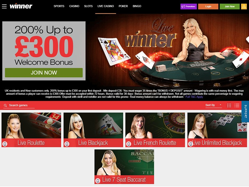 Winner Online Casino Review